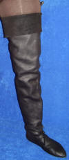 Thigh Boot Hand-stitched Footwear